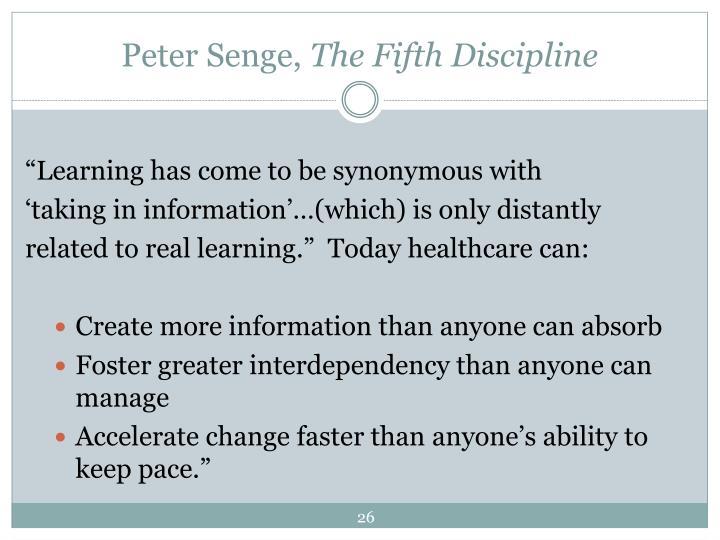 Peter Senge,