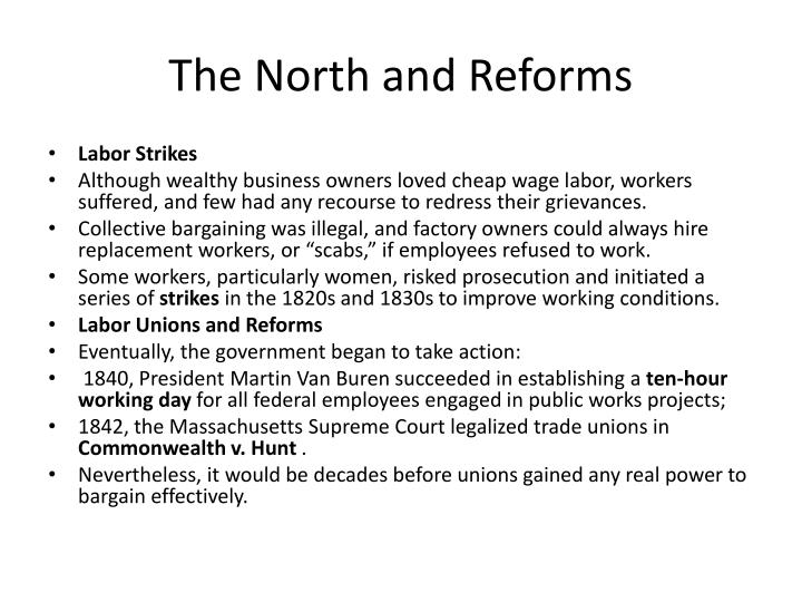The North and Reforms