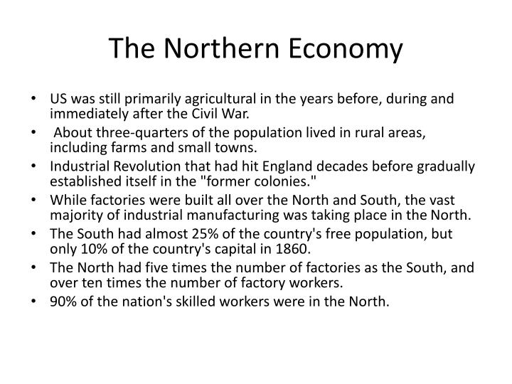 The Northern Economy