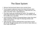 the slave system