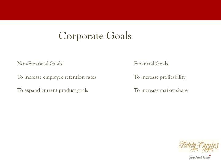 Corporate Goals