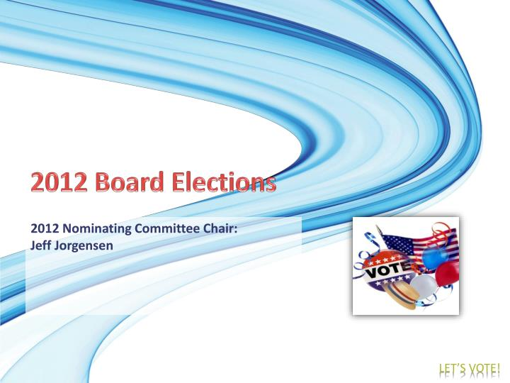 2012 Board Elections