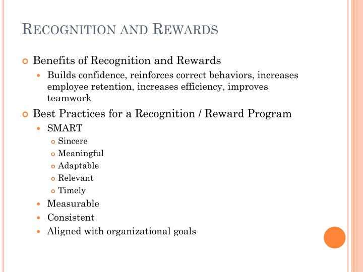 Recognition and Rewards