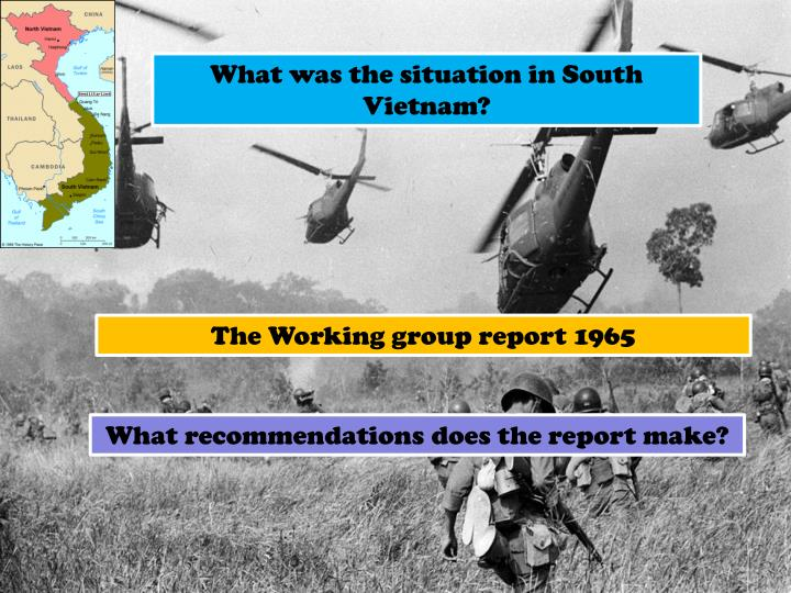 What was the situation in South Vietnam?
