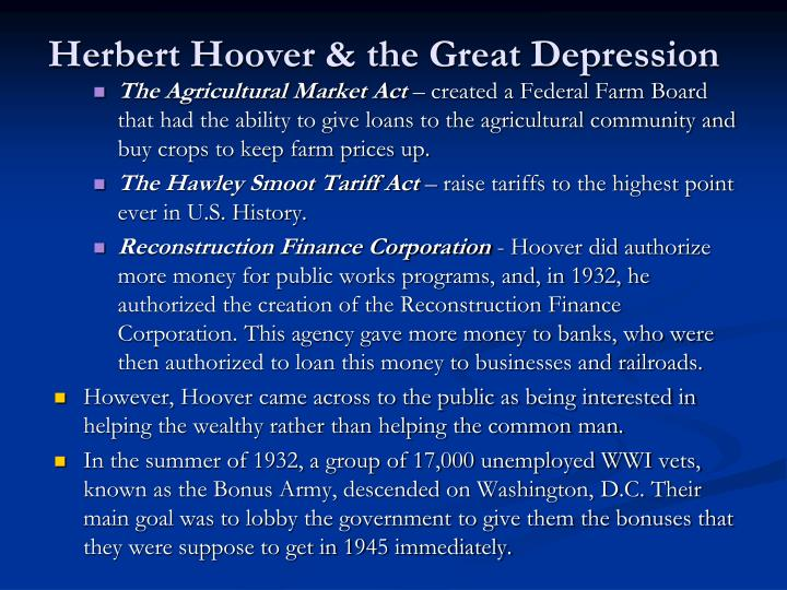 does hoover deserve blame of depression What steps did hoover take to fight the depression 2018 3 out the project and did not deserve the what steps did hoover take to stop the devastation of.