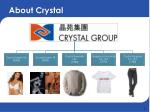 about crystal