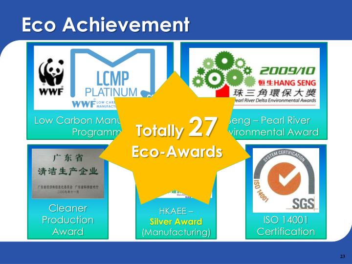 Eco Achievement