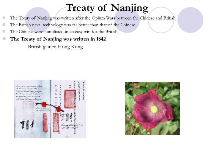 Treaty of Nanjing
