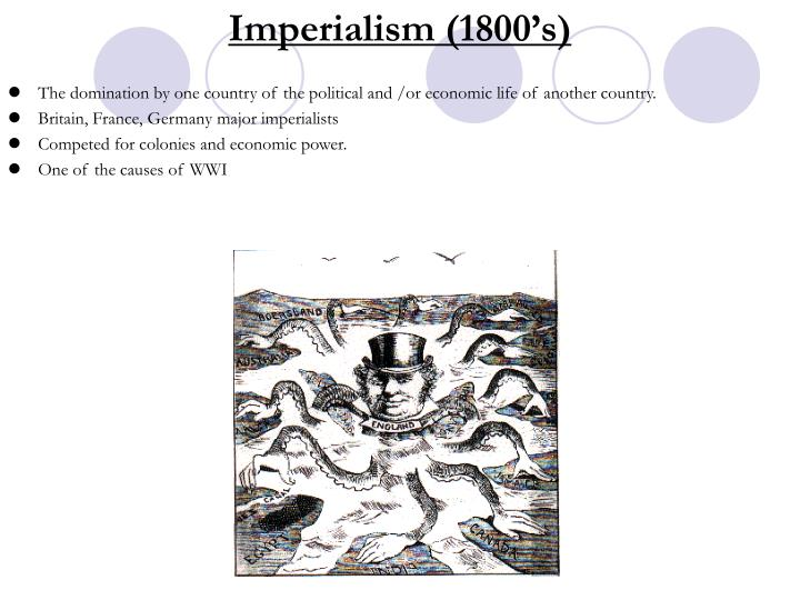 Imperialism (1800's)