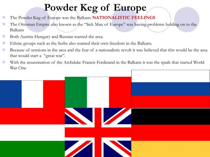Powder Keg of Europe