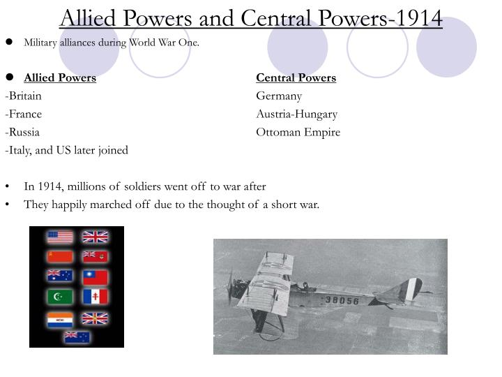 Allied Powers and Central Powers-1914