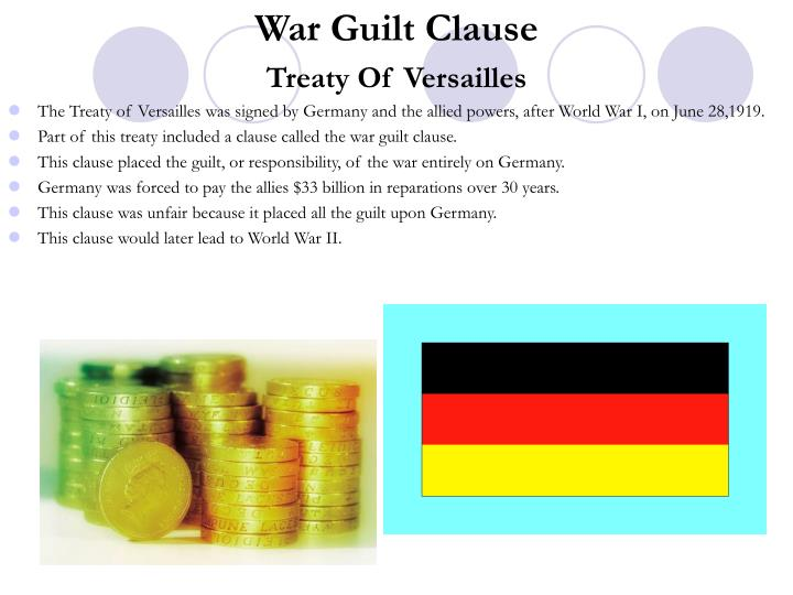 War Guilt Clause