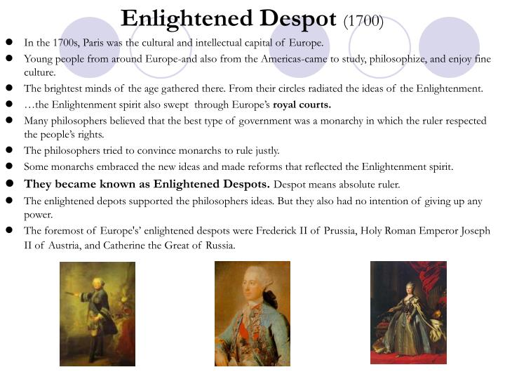 Enlightened Despot