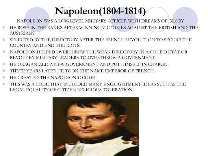 Napoleon(1804-1814)