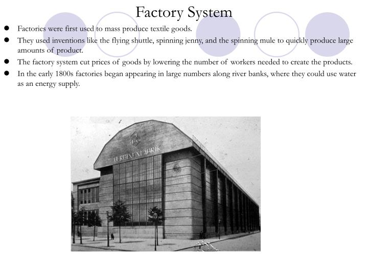 Factory System