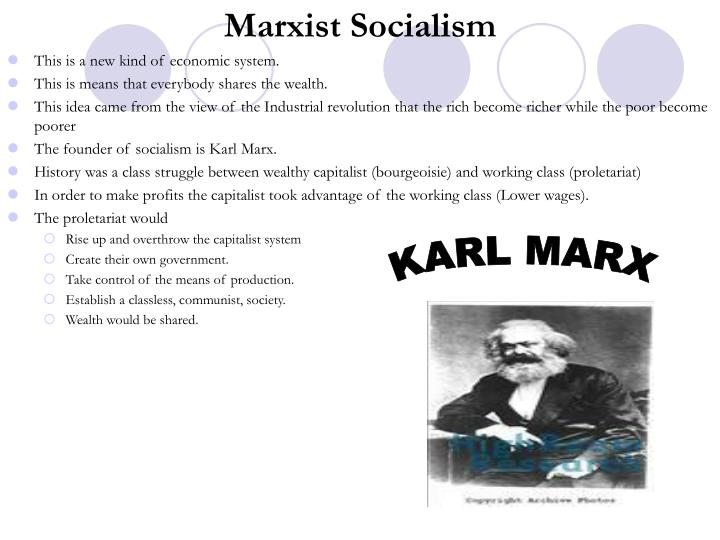 Marxist Socialism