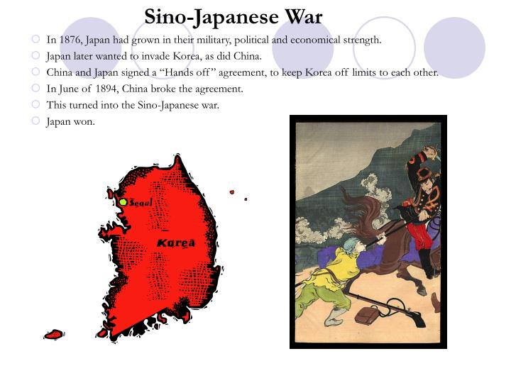 Sino-Japanese War