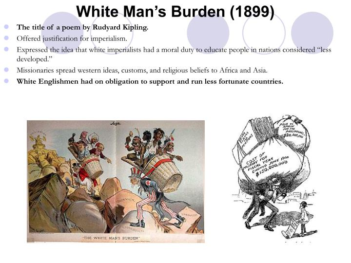 White Man's Burden (1899)