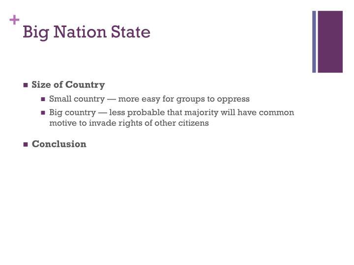 Big Nation State