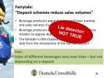 fairytale deposit schemes reduce sales volumes1