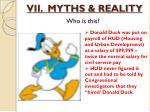 vii myths reality5