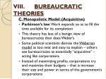 viii bureaucratic theories4