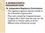 x bureaucratic organizations3