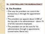 xi controlling the bureaucracy