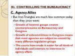 xi controlling the bureaucracy9