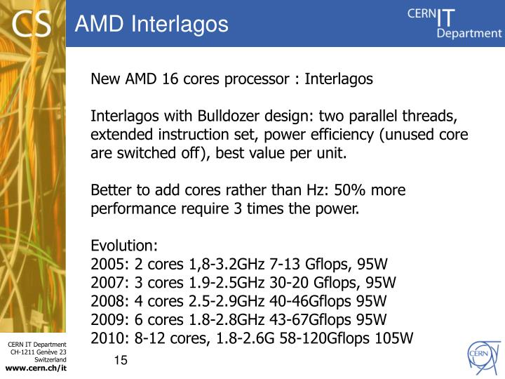 AMD Interlagos
