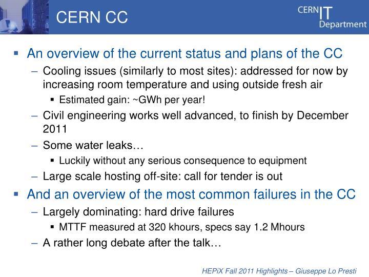 CERN CC