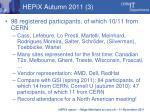 hepix autumn 2011 3