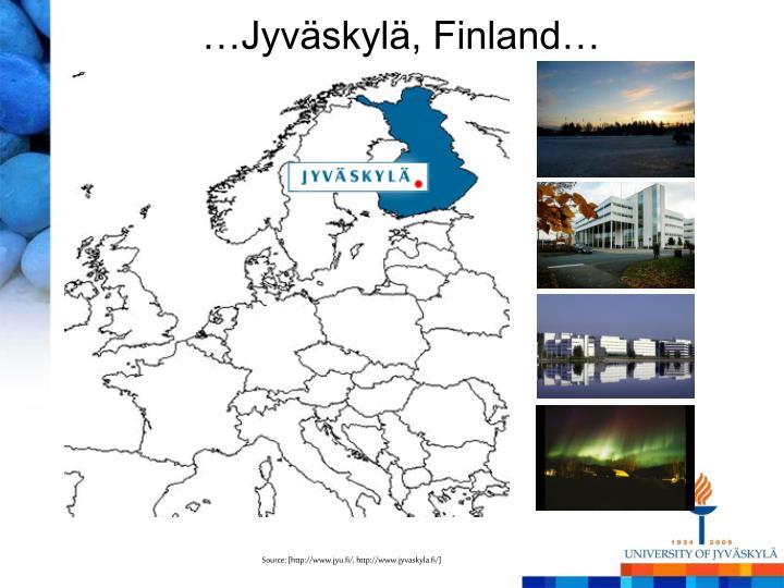 …Jyväskylä, Finland…
