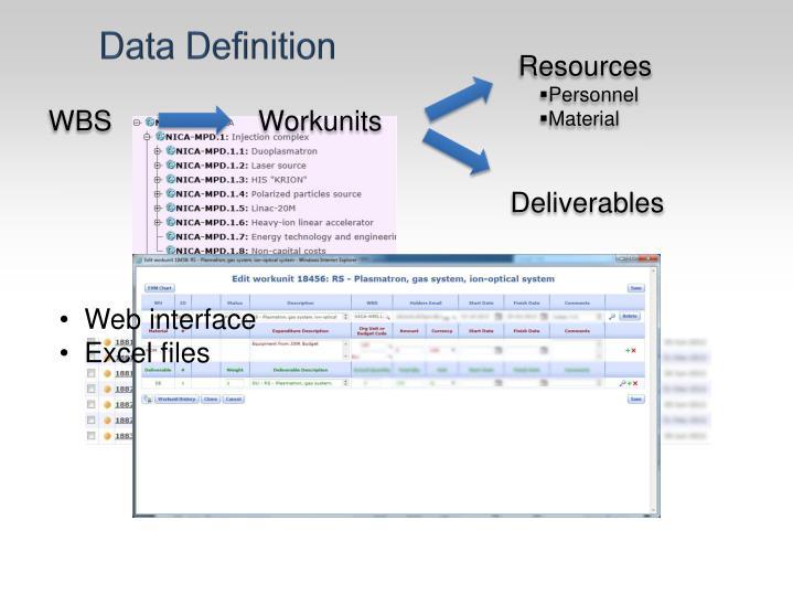 Data Definition