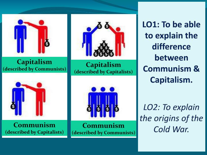 LO1: To be able to explain the difference between  Communism & Capitalism.