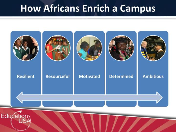 How Africans Enrich a Campus