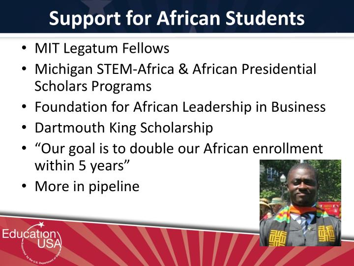Support for African Students