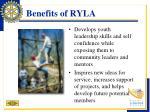 benefits of ryla