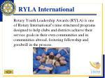 ryla international