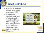 what is ryla