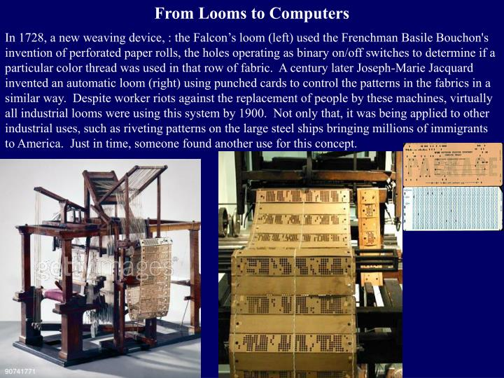 From Looms to Computers