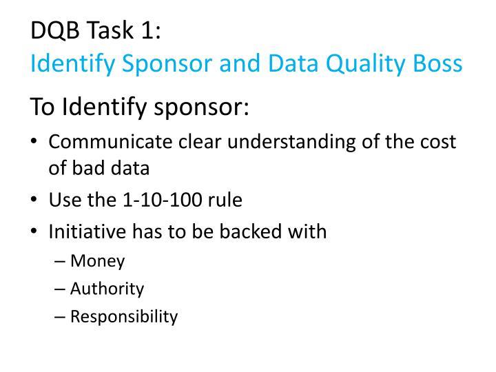 DQB Task 1: