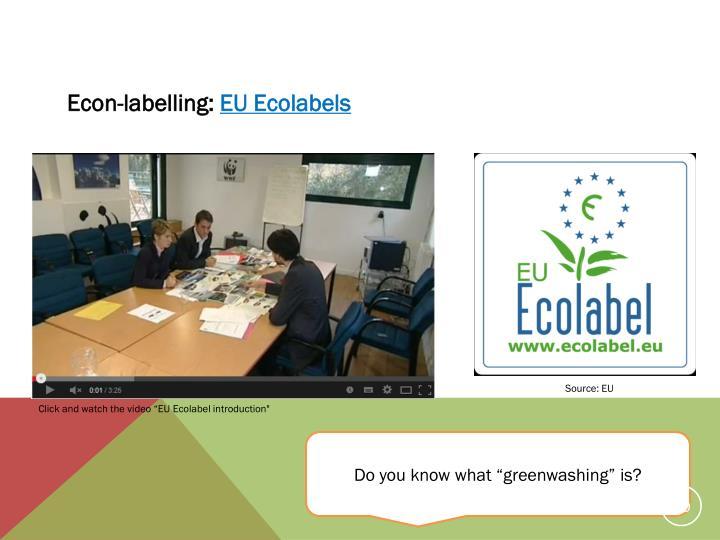 Econ-labelling: