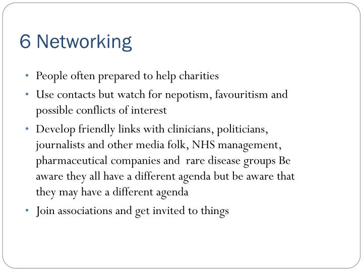 6 Networking