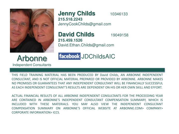 Jenny Childs