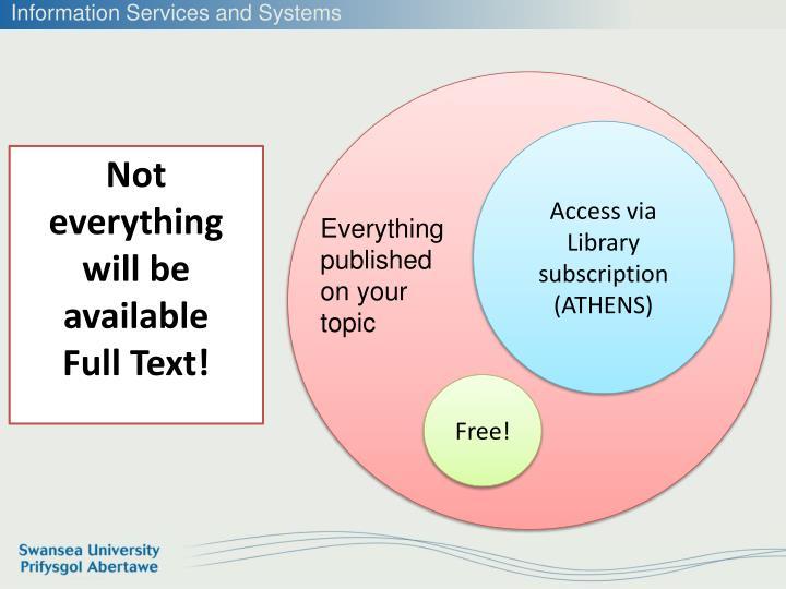 Access via