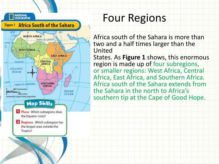 Four Regions