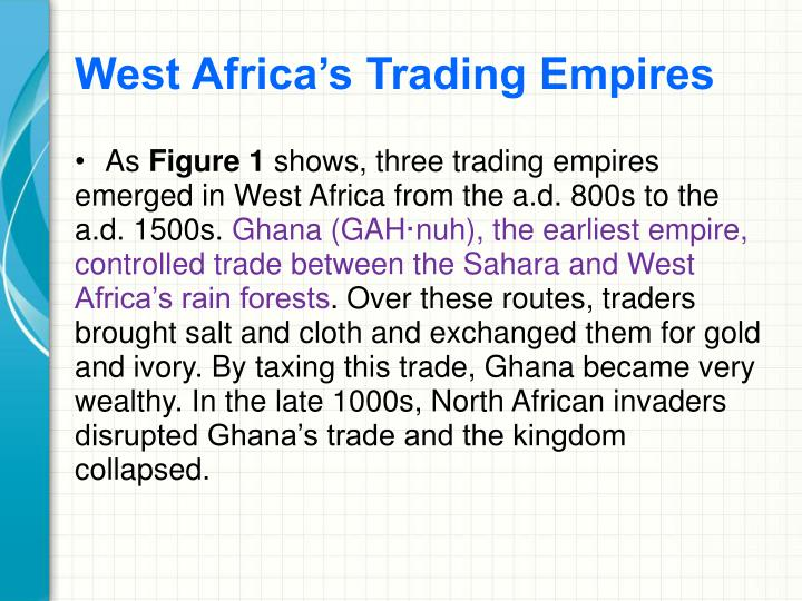West Africa's Trading Empires