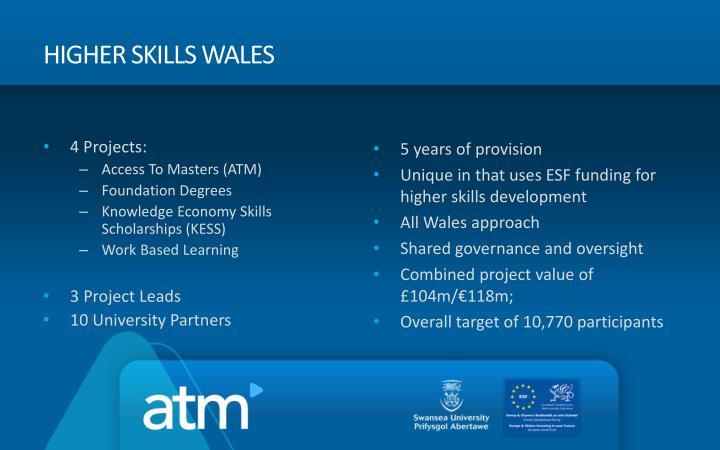 Higher Skills Wales