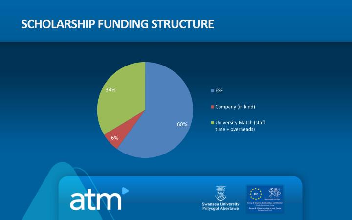 Scholarship Funding structure